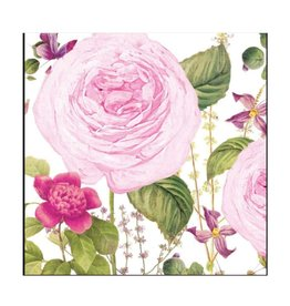 Princess Rose Beverage Napkins