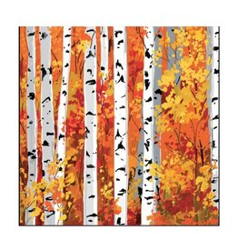 Autumn Grove Beverage Napkin