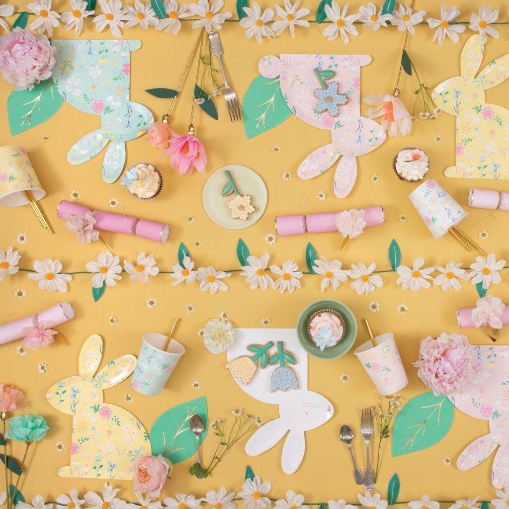 Meri Meri Wild Daisy 8-Foot Paper Garland