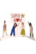 Super Mom Foiled Laser Card