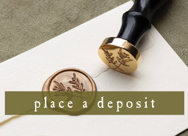 place a deposit