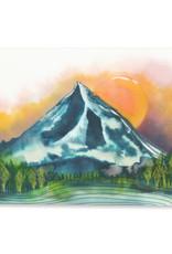 Maija Rebecca Hand Drawn Mt. Hood Sticker