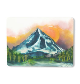 Maija Rebecca Hand Drawn Mt. Hood Sticker