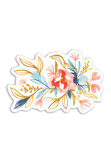 Maija Rebecca Hand Drawn Watercolor Floral Long Sticker