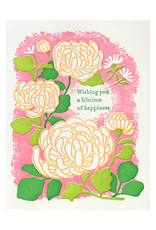 Ilee Papergoods Mum Lifetime of Happiness Letterpress Card