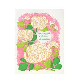 Ilee Papergoods Mum Lifetime of Happiness Letterpress Card