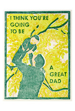 Heartell Press Great Dad Block Printed Card