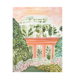 Seedlings Palm House Greeting Card