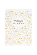 Ilee Papergoods Welcome Little One Letterpress Card