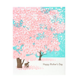 Ilee Papergoods Happy Mother's Day Deer Letterpress Card