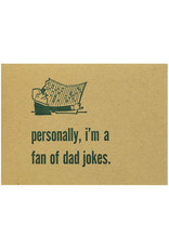 Constellation and Co. Dad Jokes Letterpress Card