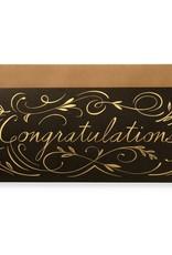 Gilt Congratulations Letterpress Greeting Card