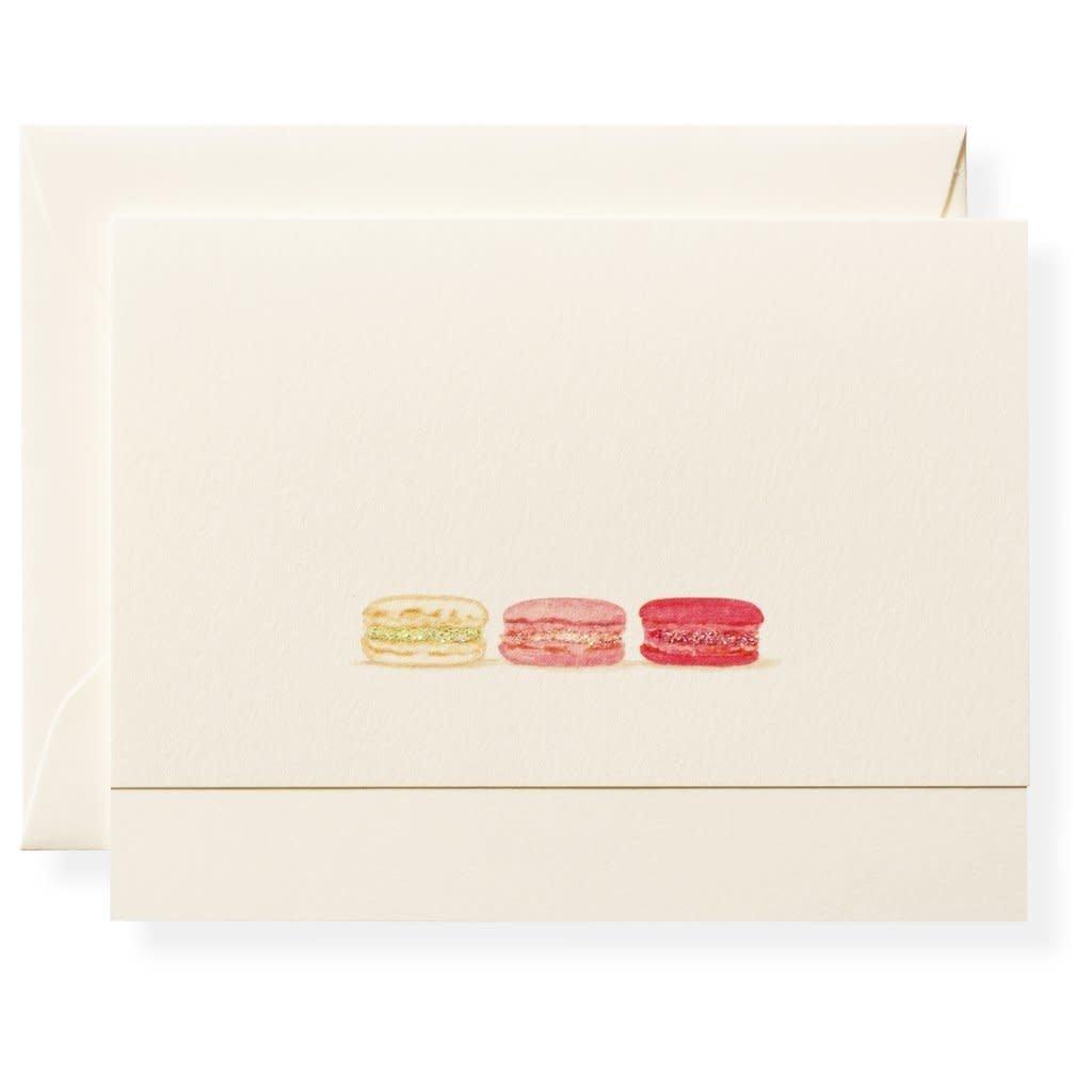 Macarons Individual Notecard
