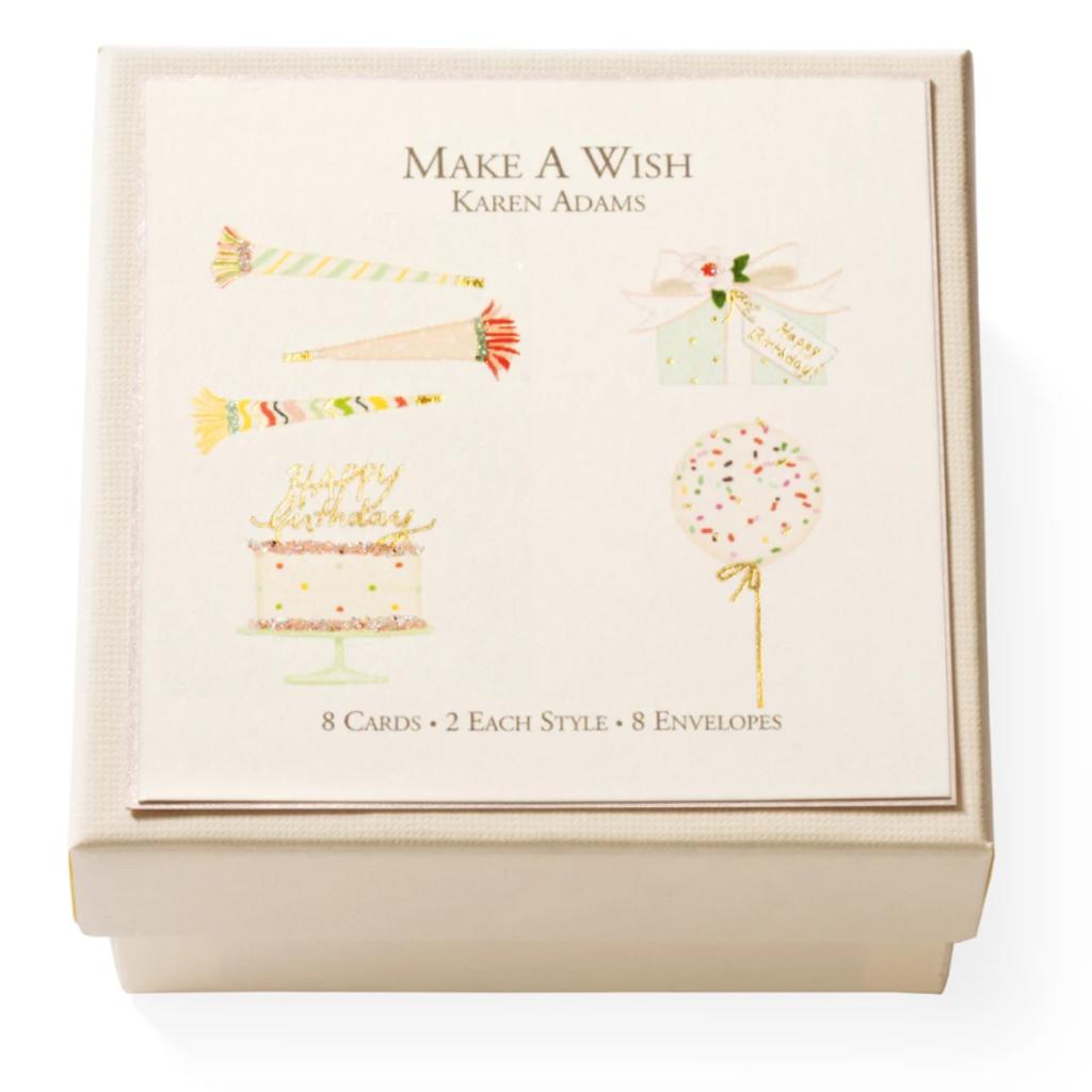 Make A Wish Gift Enclosure Box Set of 8