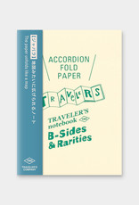Traveler's Company Refill Accordion Fold Paper Passport B-Side