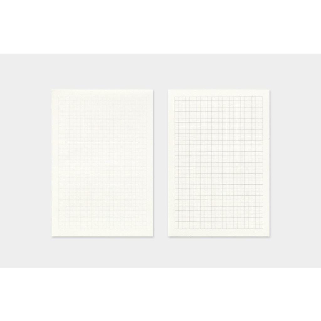 Traveler's Company Refill Letter Pad Passport B-Side