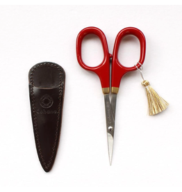 Fine Scissors with Gold Lacquer - Vermillion