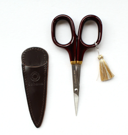 Fine Scissors with Gold Lacquer - Burnt Sienna