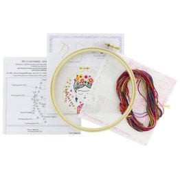 Jolie Frida Embroidery Kit