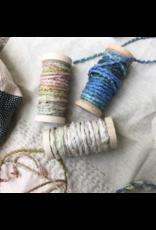 Sari Silk Cord Spool - Ocean Blue