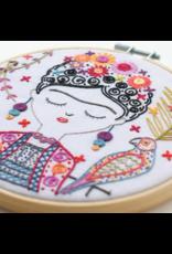 Jolie Frida Embroidery Kit