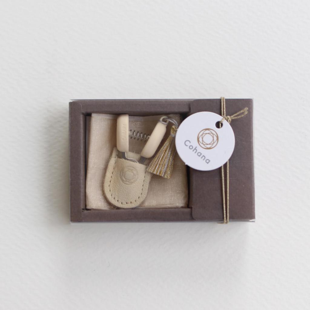 Mini Scissors - Creamy Gold