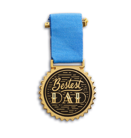 Bestest Dad Medal