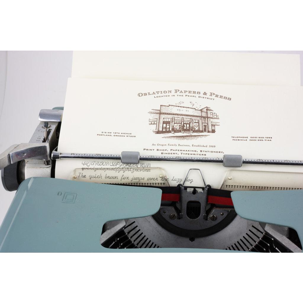 Olivetti Studio 44 cursive Typewriter