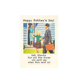 Paper Love Boutique Father's Day Times You Said Yes Greeting Card