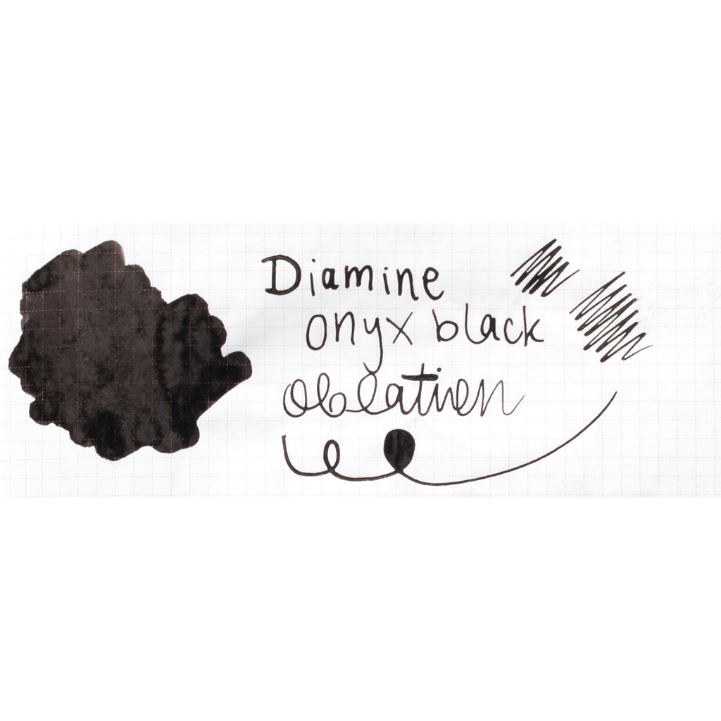 Diamine Diamine Onyx Black Bottled Ink 30ml