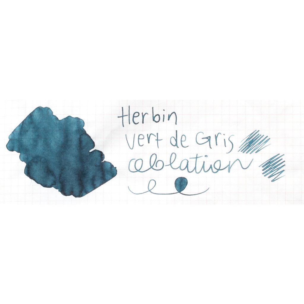 J. Herbin J Herbin Bottled Ink Vert de Gris 10ml