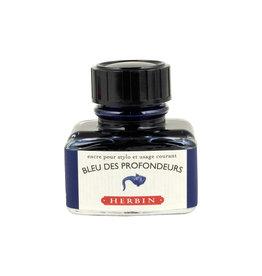 J. Herbin J Herbin Bottled Ink Bleu des Profondeurs