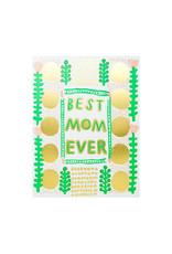 Egg Press Best Mom Ever Letterpress Card