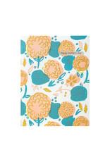 Egg Press Flower Power Mom Letterpress Card