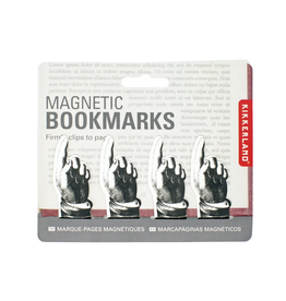 Kikkerland Magnetic Pointing Bookmark Set of 4