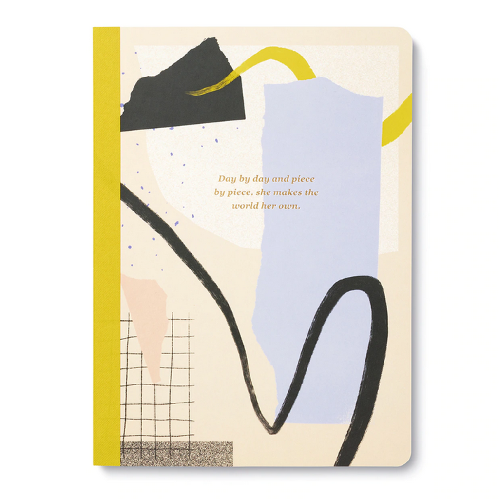 Day by Day, and Piece by Piece Notebook