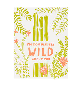 Odd Daughter Paper Co. Wild About You Card