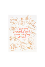 Odd Daughter Paper Co. Dreams Greeting Card