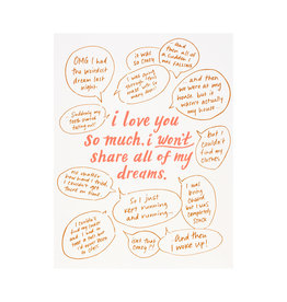 Odd Daughter Paper Co. Dreams Greeting Card