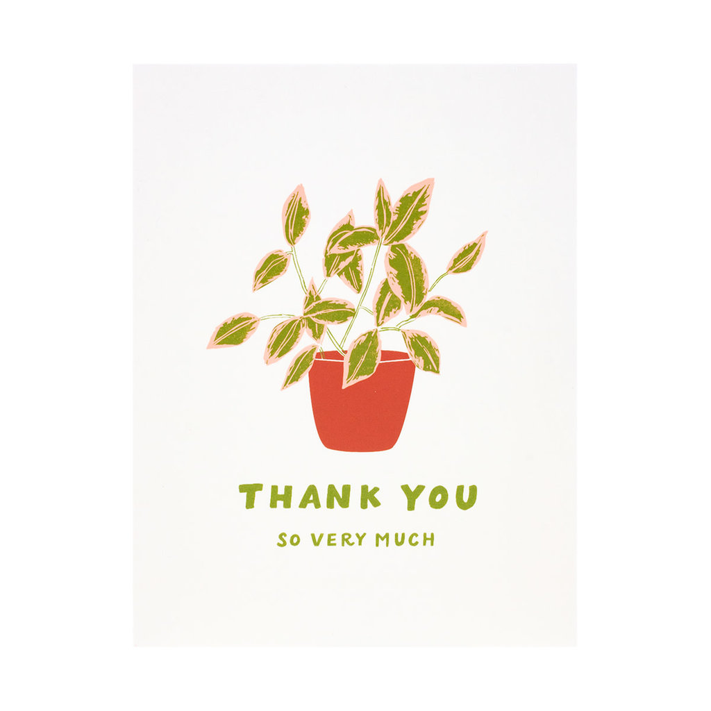 Odd Daughter Paper Co. Plant Thank You Greeting Card