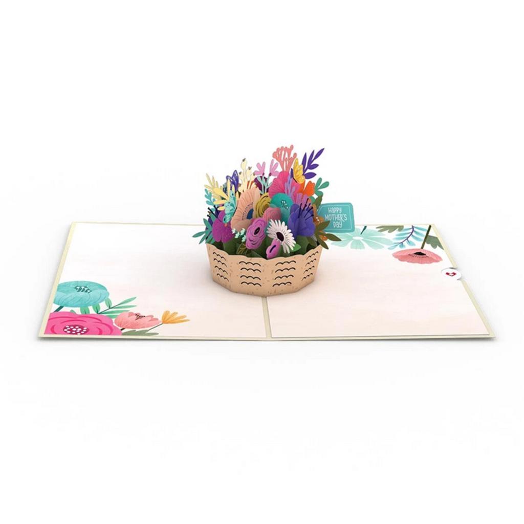 Lovepop Mother's Day Basket Pop Up Card