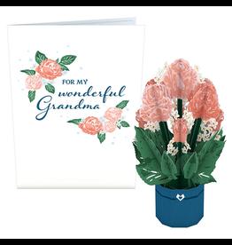 Lovepop For My Wonderful Grandma Mini Bouquet Card