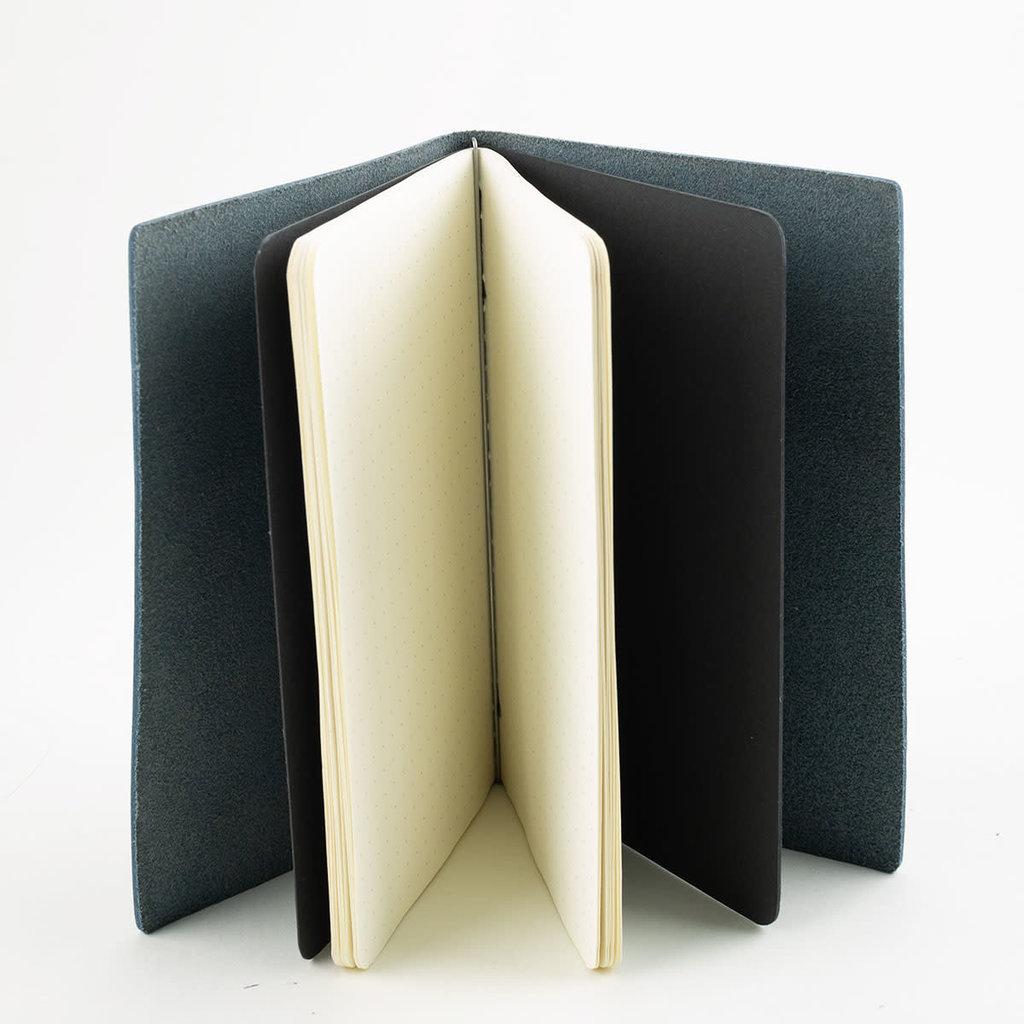 Goby Design Pocket Notebook - Slate Blue