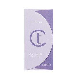 Terroir Chocolate Lavender Dark Milk 45% Chocolate Bar
