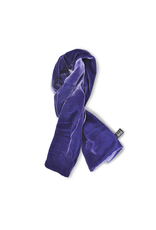 Jil Dever Hudson Muffler Scarf Lavender and Lilac