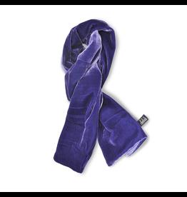 Jil Dever Hudson Muffler Scarf Lavender and Lilac