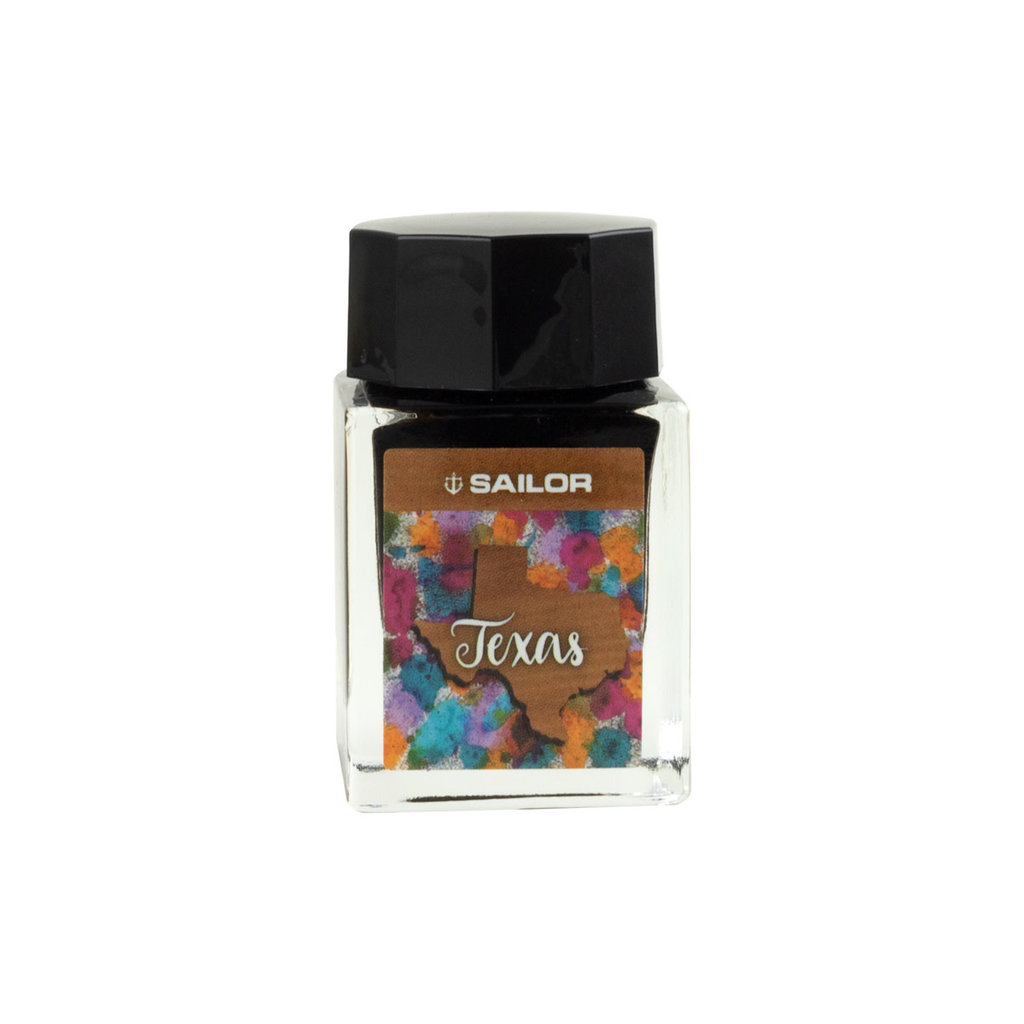Sailor USA State Bottle - Texas Ink