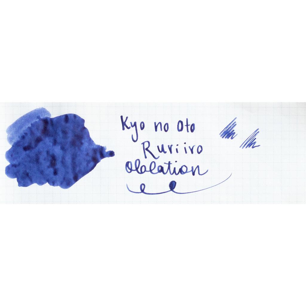Kyo No Oto Kyo No Oto Ruriiro Shimmer Ink 40ml