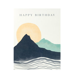 Maija Rebecca Hand Drawn Happy Birthday Blue Mountain Greeting Card