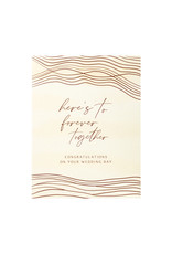 Maija Rebecca Hand Drawn Together Forever Wedding Greeting Card